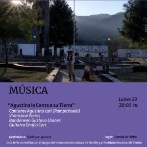 poster_de_agustina_cari_le_canta_a_su_tierra